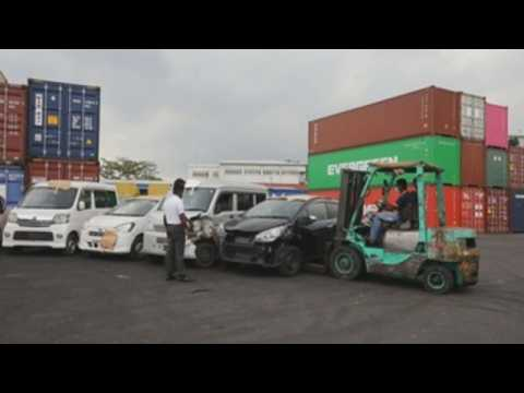 Sri Lanka Customs seizes illegally imported vehicles
