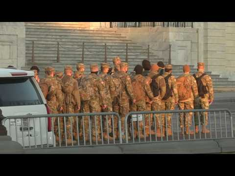 National Guard presence continues days after US Capitol siege
