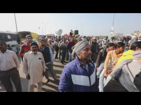 India farmers continue anti-farm bills protests