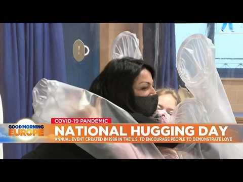 What can you do to have a safe National Hugging Day during the pandemic?