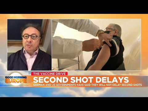 COVID vaccinations: Second shot delays not recommended by global health chiefs