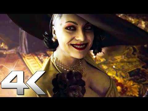 RESIDENT EVIL 8 VILLAGE New Trailer (4K, 60fps) PS5, Xbox Series X