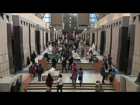 Paris's Musée d'Orsay, from a train station to a world-class museum