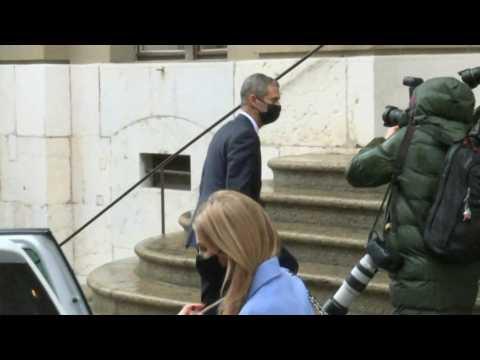 Beny Steinmetz arrives at Geneva court ahead of verdict in corruption trial