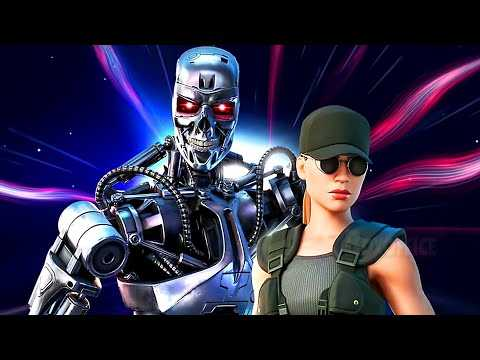 "FORTNITE ""Terminator and Sarah Connor"" Trailer (2021)"