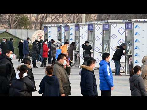 Beijing starts second day of mass COVID testing for residents