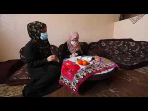 COVID-19 positive Palestinian family confined in refugee camp