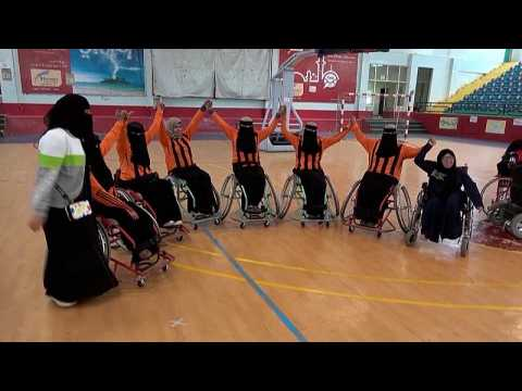 Yemen's disabled women basketball players overcoming adversity on court