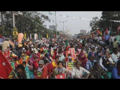 Farmers, activists protest in Kolkata against farm reforms