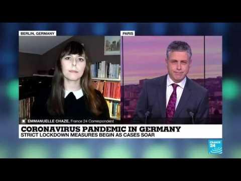 Coronavirus pandemic in Germany: Strict lockdown measures begin as cases soar