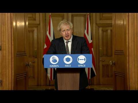 Boris Johnson rules out tougher Christmas virus curbs for UK