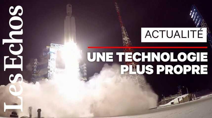 Illustration pour la vidéo La Russie lance avec succès sa fusée Angara de nouvelle génération