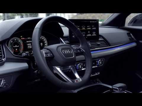 Audi Q5 Sportback 40 TDI quattro Interior Design in Glacier white