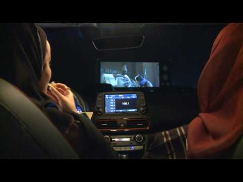 First drive-in cinema in Riyadh offers safe viewing during pandemic