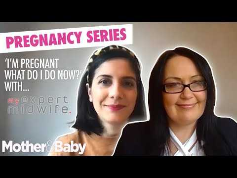 I'm pregnant what do I do now?' with My Expert Midwife   Pregnancy Series Episode 1