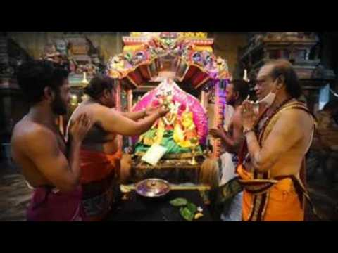 Hindu devotees celebrate Thaipoosam festival in Sri Lanka