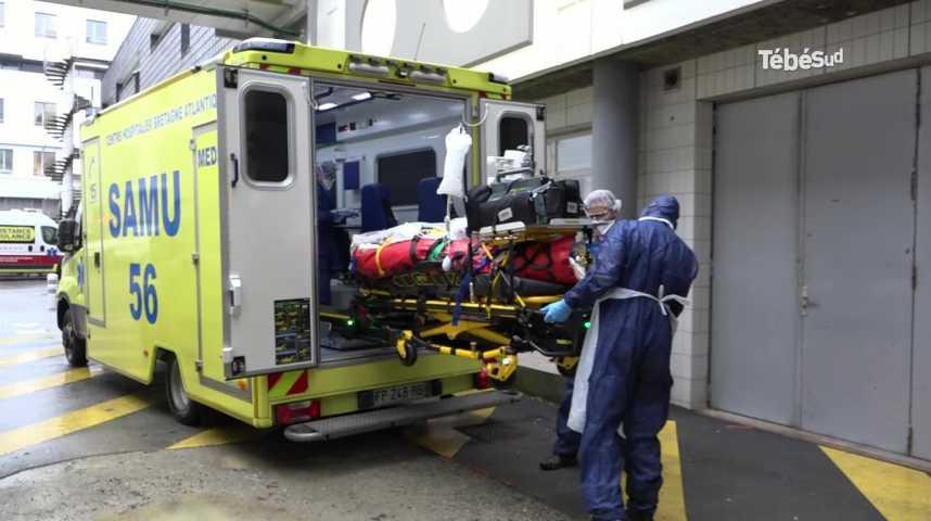 Thumbnail Vannes : deux patients Covid-19 en provenance de Nice sont pris en charge