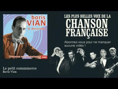 Boris Vian - le petit commerce (Pix Clip)