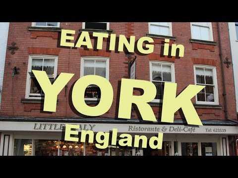 York Restaurants, UK England