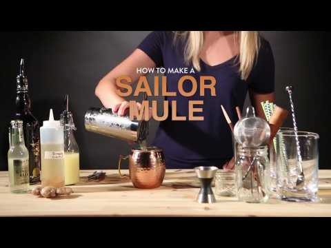 Drink Recipes: How to make a Sailor Mule